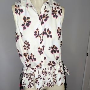 FRENCH CONNECTION - floral blouse